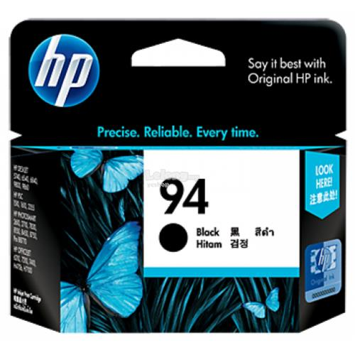 HP 94 Black Inkjet Print Cartridge (C8765WA)