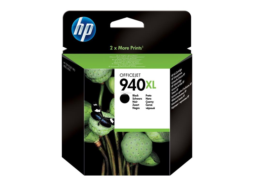 HP 940XL High Yield Black/Cyan/ Yellow/ Magenta Original Ink Cartridge