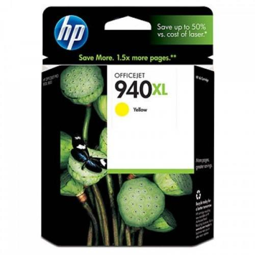 HP 940XL Yellow Officejet Ink Cartridge (C4909AA)