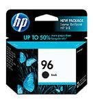 HP 96 BLACK Ink Cartridge (Genuine) C8767WA 6840 8030 9800 K7100