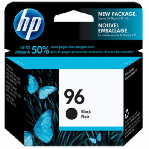 HP 96 Black Inkjet Print Cartridge (C8767WA)