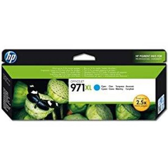 HP 971XL High Yield Cyan Original Ink Cartridge