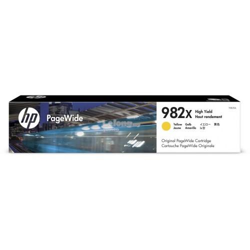 HP 982X High Yield Yellow Original PageWide Cartridge (T0B29A)