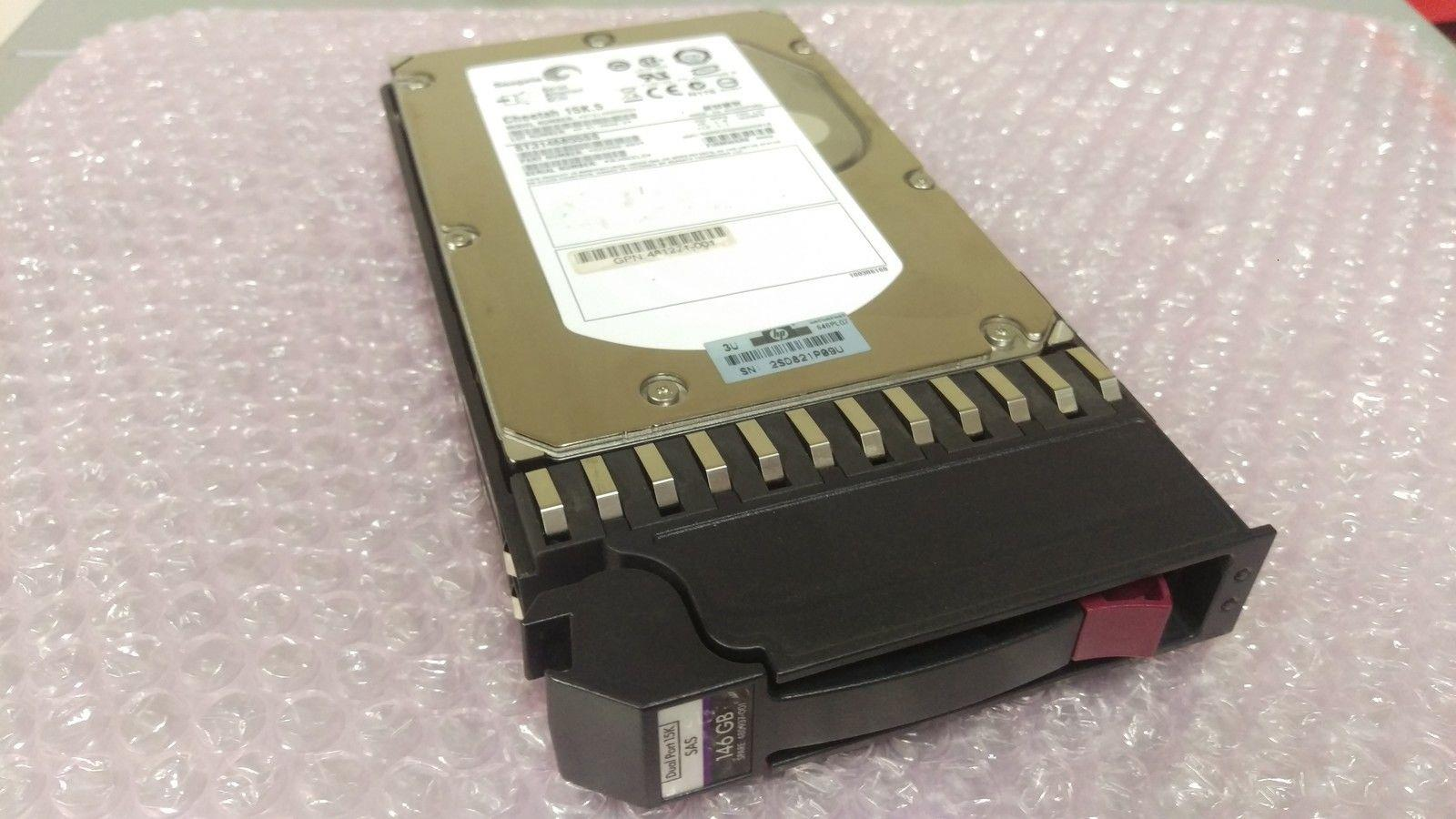 """AJ735A//480937-001//481271-001//488156-001 HP 146GB 3G 15K 3.5/"""" SAS DUAL PORT HD"""