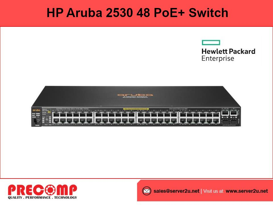 HP Aruba 2530 48 PoE+ Switch (J9778A)