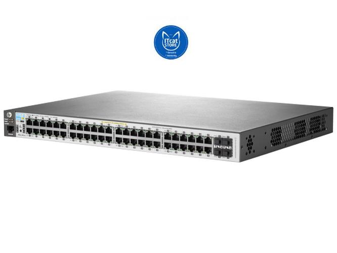 NEW HP ARUBA FULLY MANAGED LAYER 2 SWITCH 2530-48G PoE+SWITCH (J9772A)