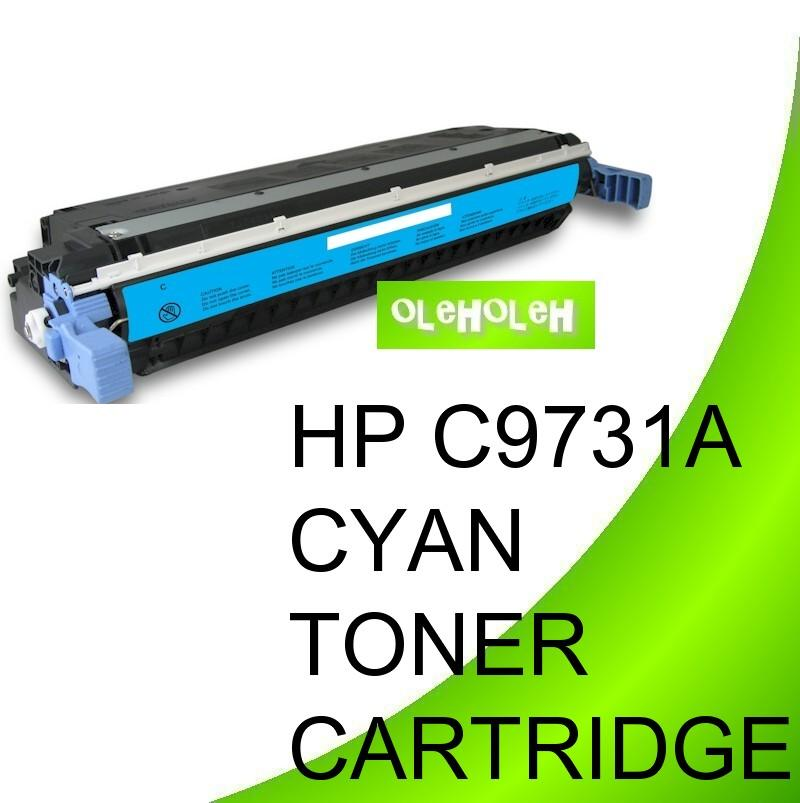 HP C9731A (645A) Compatible Cyan Toner For HP Color LaserJet 5500