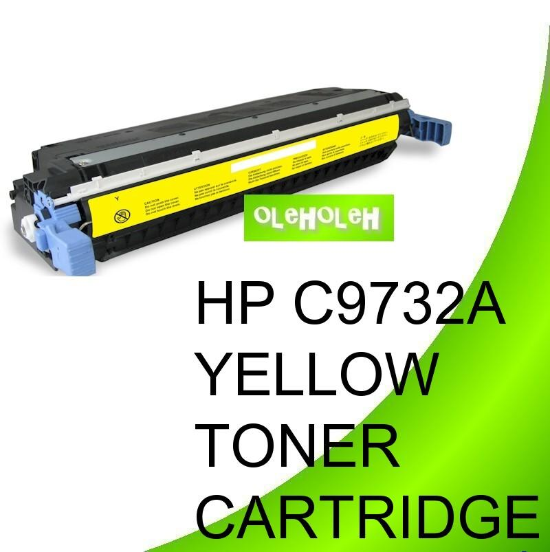 *HP C9732A (645A) Compatible Yellow Toner For HP Color LaserJet 5500