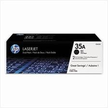 HP CB435AD DUAL PACK Black Toner (Genuine) for HP P1005 P1006 CB435A