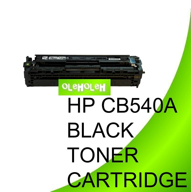 HP CB540A (125A) Compatible Black Toner Cartridge CM 1300 1312