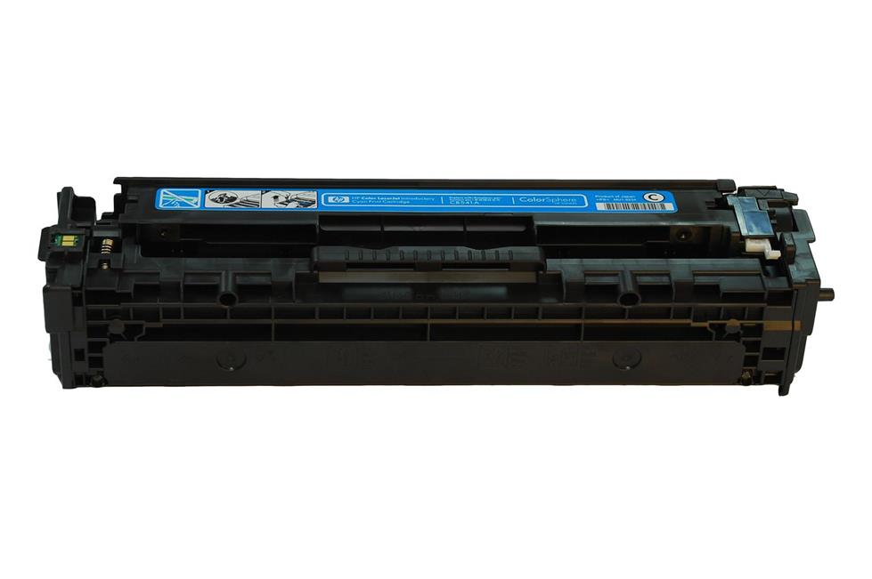 HP CB541A 125A 541A CP1215 1210 1510 Cyan Compatible Toner Cartridge