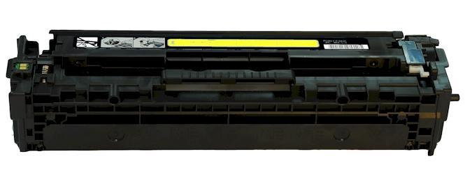 HP CB542A 125A CP1215 1210 1510 Yellow Compatible Toner Cartridge
