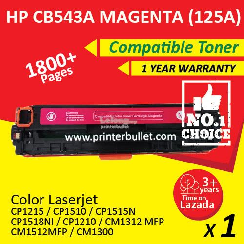 HP CB543A Magenta Compatible Colour Laser Toner