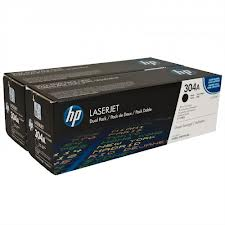 HP CC530AD (304A) BLACK Toner TWIN PACK (Genuine) CP2025 CM2320 530