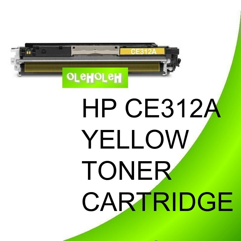 HP CE312A (126A) Compatible Yellow Toner CP1025 CP1025nw