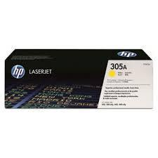 HP CE412A (305A) Yellow Toner (Genuine) M365nw M451dn M451dw 412