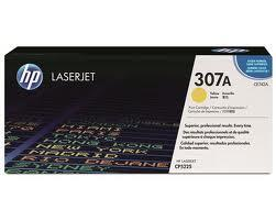 HP CE742A (307A) Yellow Toner (Genuine)CP5225dn CP5225n CE742 742A 742