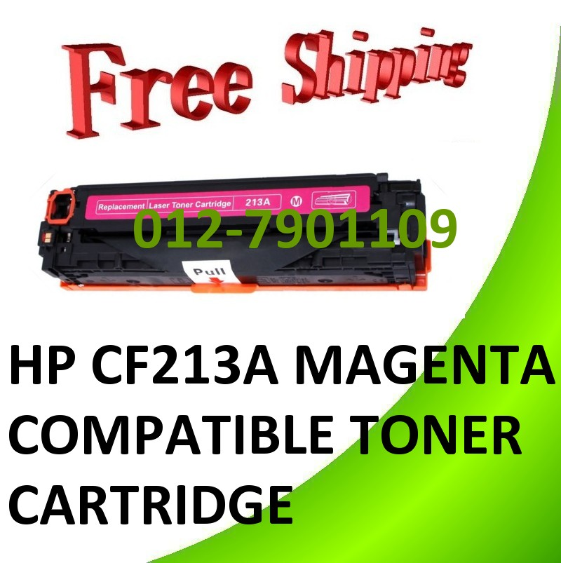 *HP CF213A (131A) Compatible Magenta Toner HP Color LaserJet 200