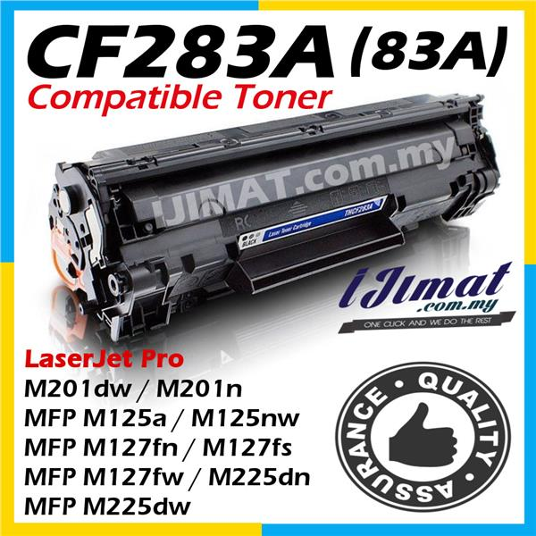 HP CF283A 83A M225 M127 MFP M127fs MFP M127fw MFP M225dn MFP M225dw