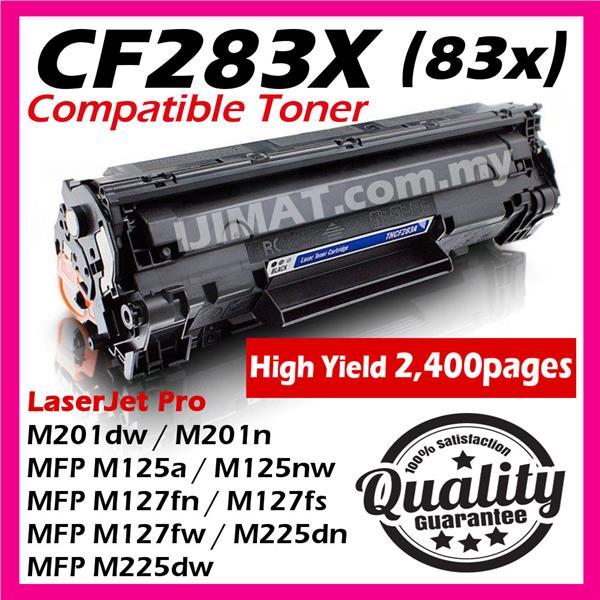 HP CF283X 83X M225 M127 MFP M127fs MFP M127fw MFP M225dn MFP M225dw