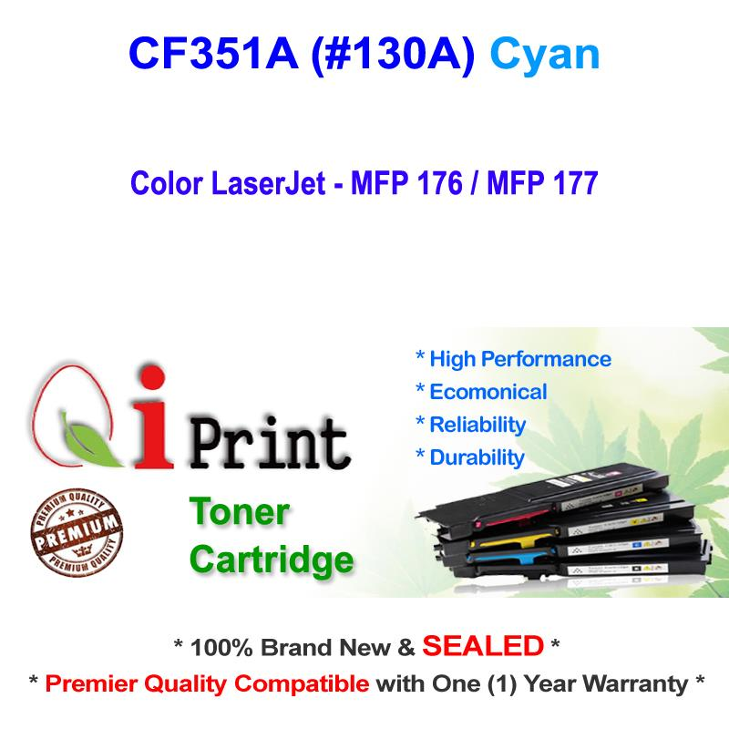 HP CF351A 130A MFP176 177 CYAN Toner Compatible * NEW Sealed *