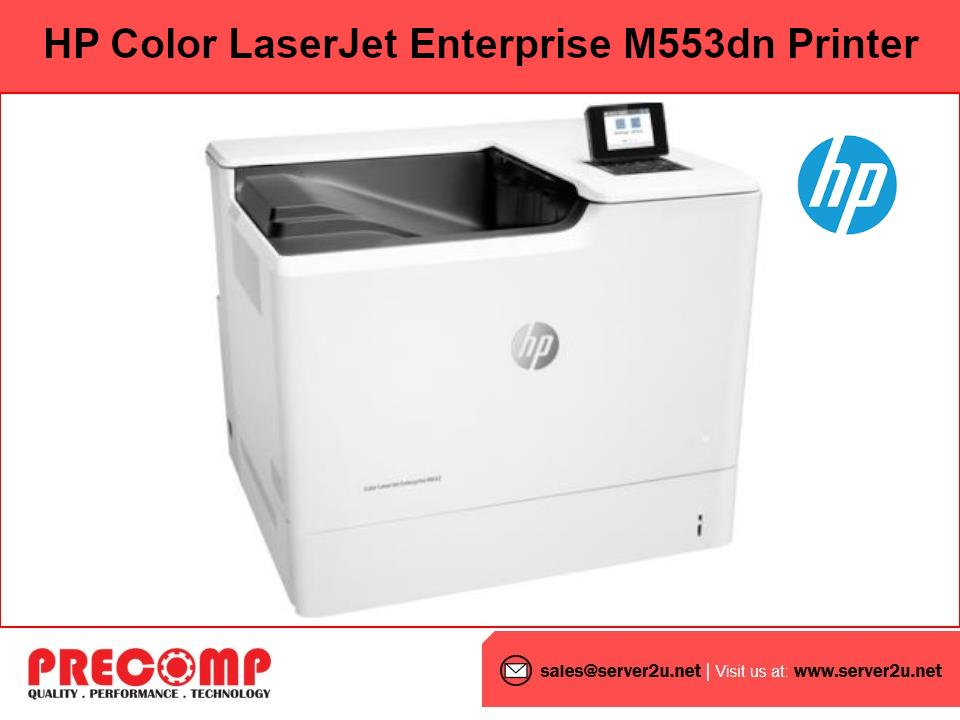HP Color LaserJet Enterprise M553dn Printer (B5L25A)
