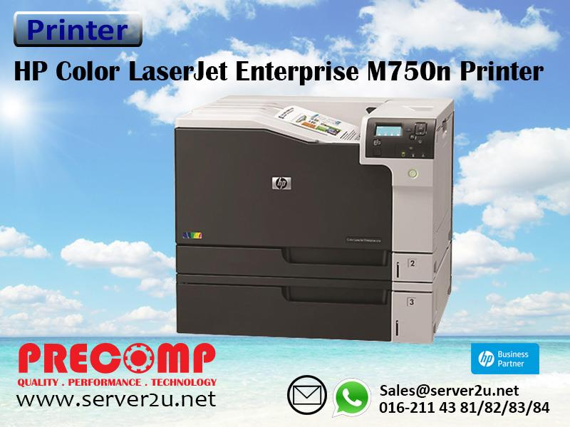 HP Color LaserJet Enterprise M750n Printer (D3L08A)