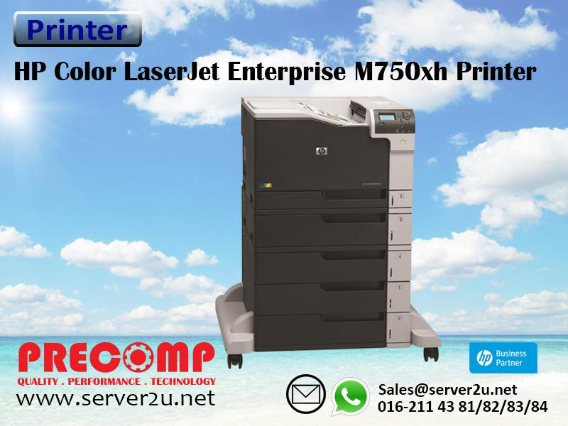 HP Color LaserJet Enterprise M750xh Printer (D3L10A)