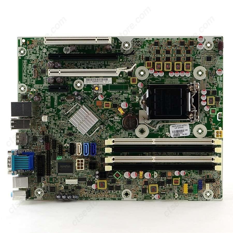 HP Compaq 8200 Elite SFF/ MT PC Motherboard 611834-001