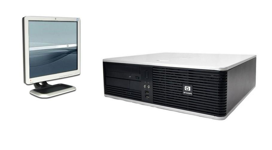 HP Compaq dc5800+Win7Pro+17'LCD+320 GB HDD