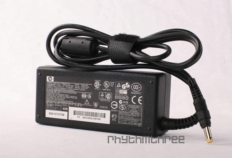 HP Compaq Laptop Power Adapter Charger ( Model at Bottom )