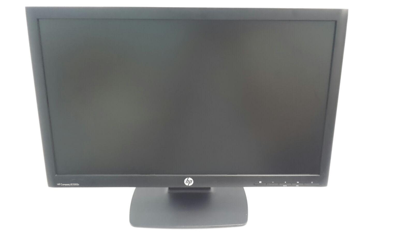 HP Compaq LE2202x LED Backlit Monitor Windows 7