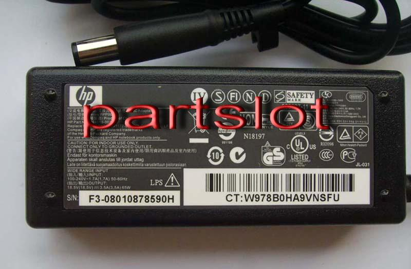 HP Compaq Presario CQ50 CQ60 18.5V 3.5A 7.4/5.0 mm AC Adapter