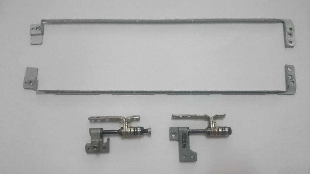 Used HP Compaq Presario V3000 V3500 Hinges Set Left Right With Bracket