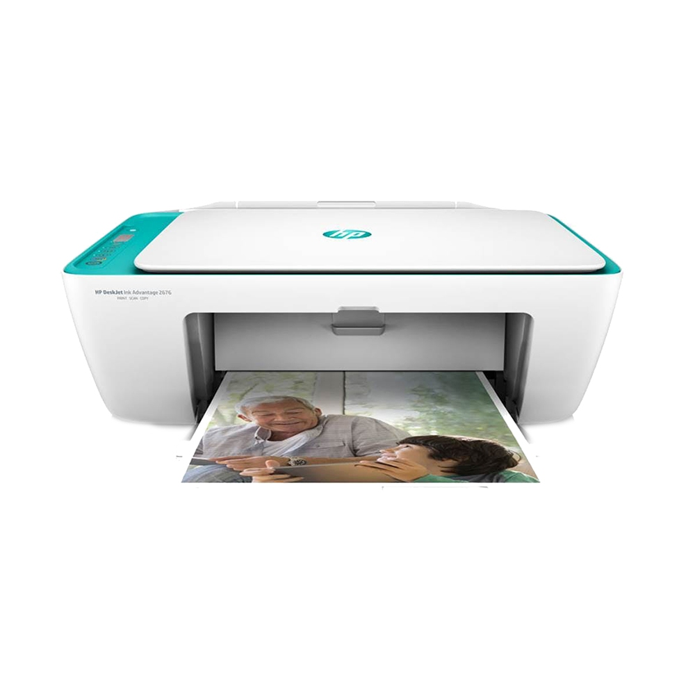 HP DeskJet Ink Advantage 2676 All-in-One Printer. ‹ ›