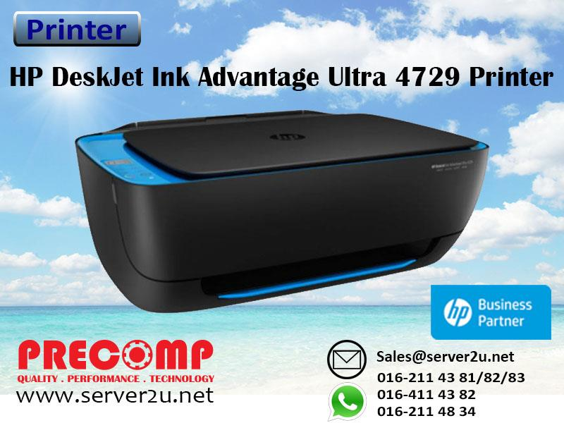 HP DeskJet Ink Advantage Ultra 4729 All-in-One Printer (F5S65A)