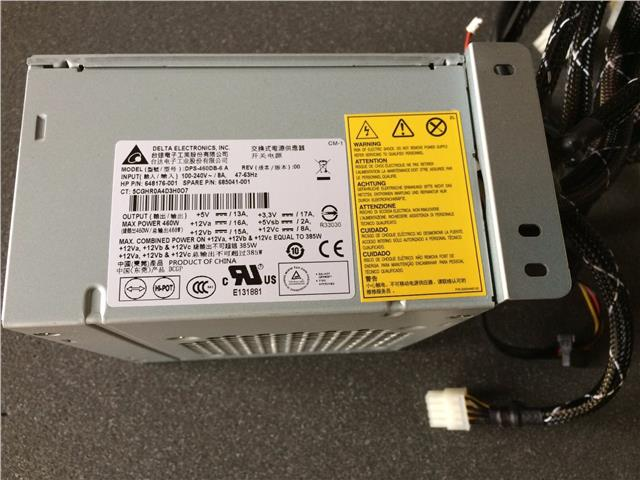 HP DPS-460DB-6 A ML350E G8 460W 5U Power Supply 685041-001 648176-001