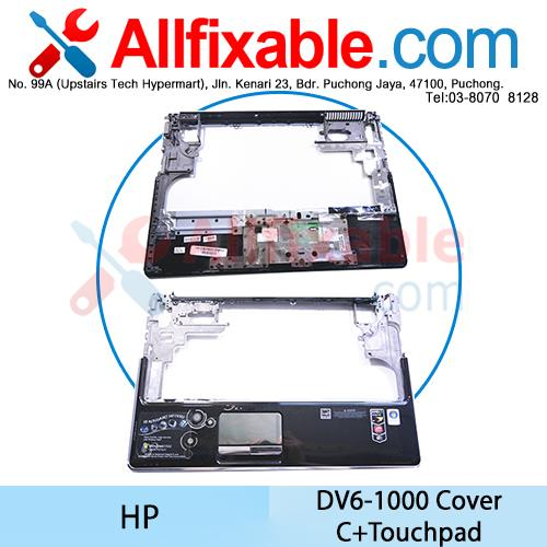 HP DV6-1000 Series Cover C+Touchpad Casing Case