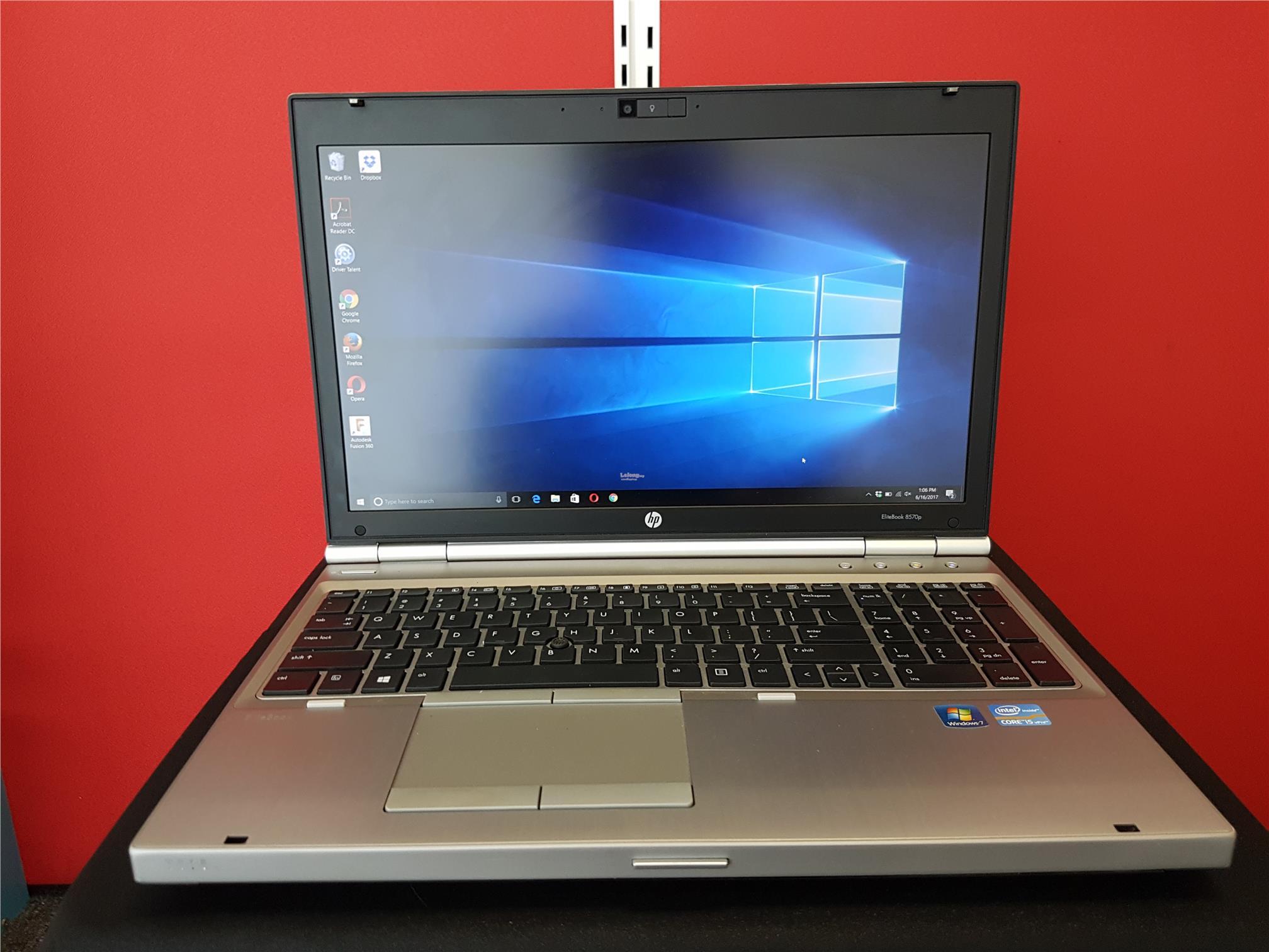 HP EliteBook 8570p Core i5 Laptop Notebook
