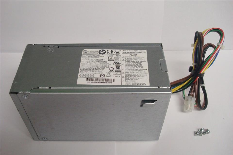 HP Elitedesk 800 Prodesk 600 800 G1 Power Supply 240W PSU 702307-002