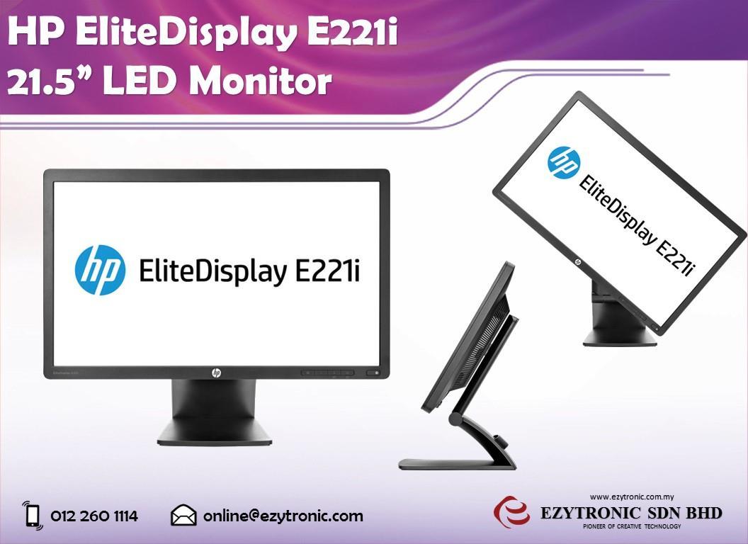 Hp Elitedisplay E221i Driver Download