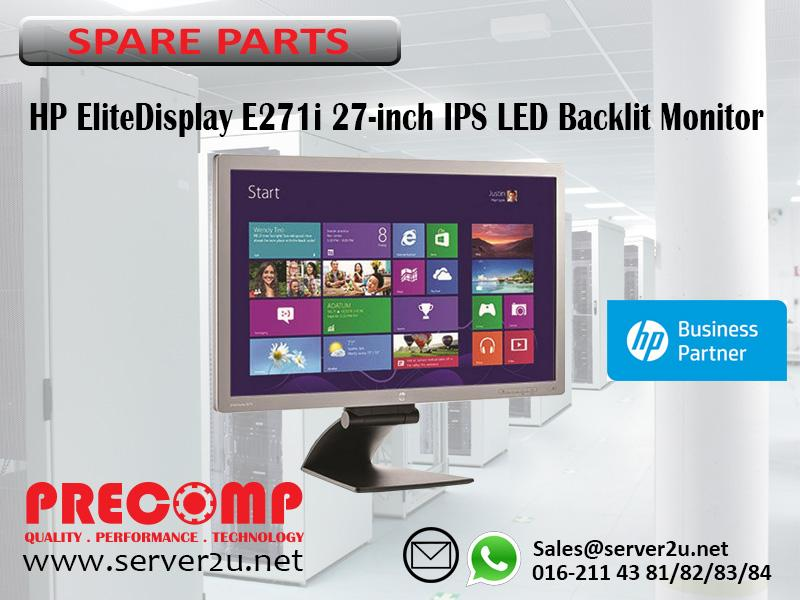 HP EliteDisplay E271i 27-inch IPS LED Backlit Monitor (D7Z72AA)
