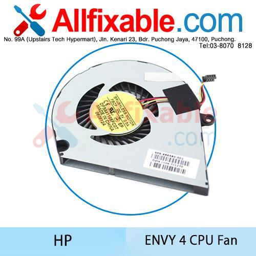 HP Envy 4-1000 TouchSmart 4-1215DX 1105DX 1115DX 1102XX cpu fan