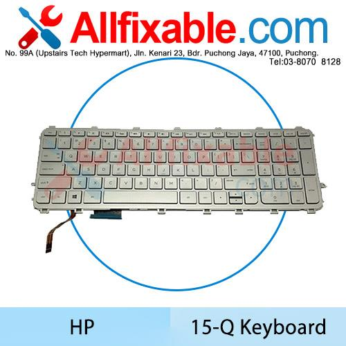 HP Envy M6-N113DX Touchsmart M6-N013DX M6-N014DX M6-N015DX  Keyboard