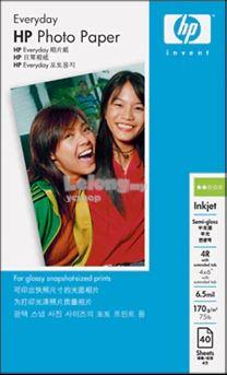 HP Everyday Semi-gloss Photo Paper 40S 4R (Y2144A)