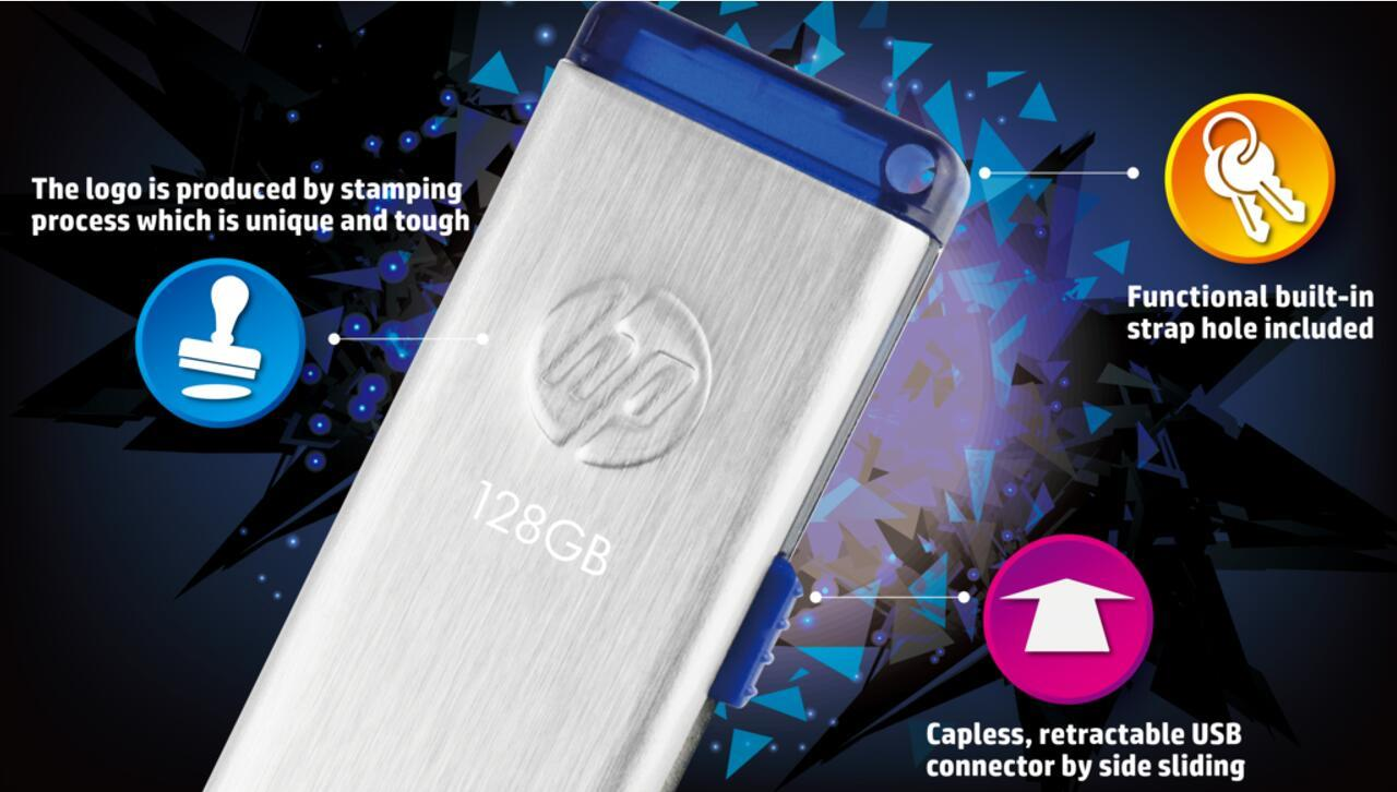HP FLASH THUMB DRIVE USB3.0 X730W 16GB