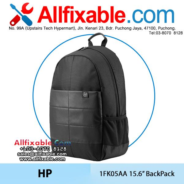 HP Genuine 15.6'' 1FK05AA Notebook Laptop Water Proof BackPack Bag