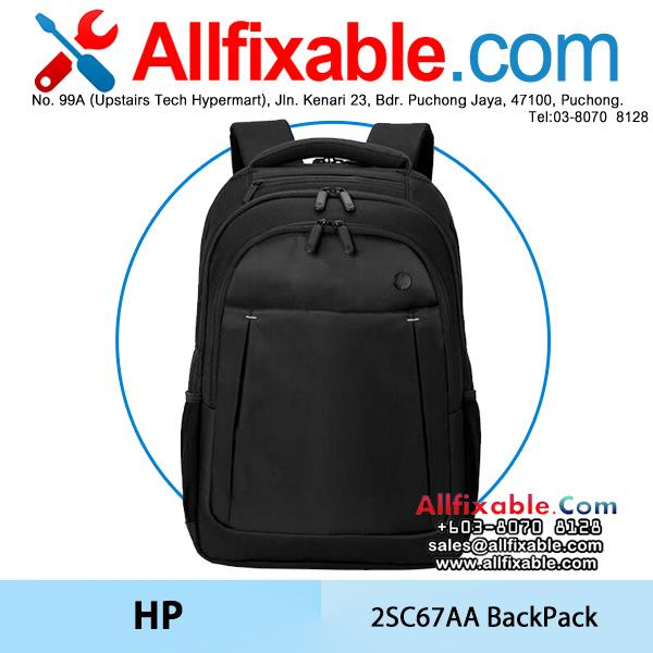 HP Genuine 17.3' 2SC67AA Laptop Business Backpack Bag