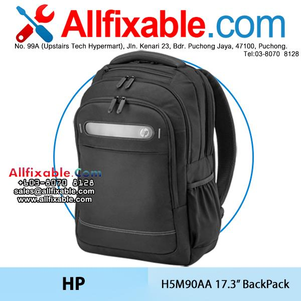 HP Genuine 17.3'' H5M90AA Laptop Business Backpack Bag