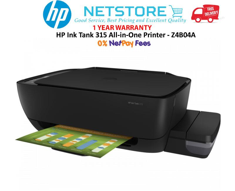Best All-In-One Printers 2020 HP Ink Tank 315 AIO All in One Print (end 4/21/2020 8:15 PM)